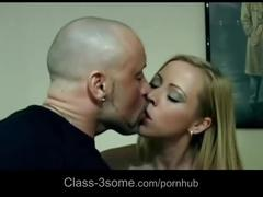 Big load of cum on evita's face after wild pile driver thrusted