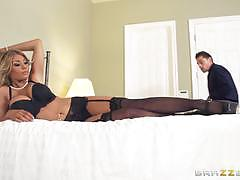kayla kayden, riding, big tits, doggystyle, cumshot, lingerie, facial, reverse cowgirl, stockings, heels, wife, cowgirl, pussy licking, suspenders, pick up, pile driver, spooning