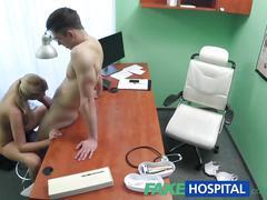 Fakehospital sexy nurse wants a quick fuck