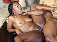 Nuru massage in africa with chanell heart and skyler nicole