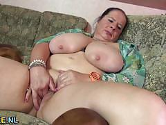 busty, toy, masturbation, solo, european, chubby, bbw, mature, natural tits, amateur
