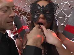 rocco siffredi, vanda lust, nataly gold, brunette, riding, hardcore, cumshot, facial, anal, blonde, reverse cowgirl, threesome, ffm, cowgirl, ass fuck, gagging, fishnets, pile driver