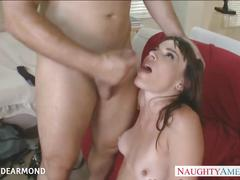 brunette, hardcore, milf, small tits, naughtyamerica, naughty-america, diana-dearmond, pornstar, tattoo, mom, natural-tits, small-boobs, shaved, blowjob, doggy-style