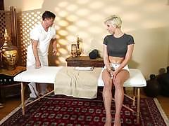 dylan phoenix, blowjob, doggystyle, cumshot, blonde, massage parlour, massage, hidden cam, spy cam, camera, sucking, massage room