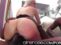 big dick, blonde, interracial, threesome, airerose, 3some, hd, hardcore, facial, blowjob, big-cock, bbc, riding, cowgirl, shaved, cock-sucking