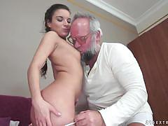 Anita bellini riding an old mans cock
