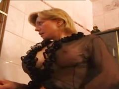 French milf wants   cock in all holles