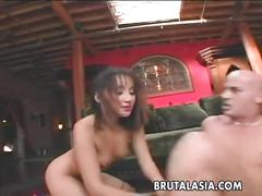 asian, milf, anal, small tits, french, brutalasia, small-ass, skinny, hardcore, small-boobs, stockings, big-cock, cock-sucking, trimmed, riding, reverse-cowgirl, ass-fuck