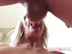 Pervcity nina elle loves giving deep, sloppy blowjobs