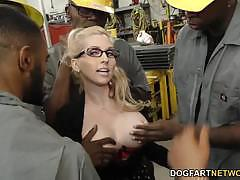 Busty christie stevens fucked in gangbang