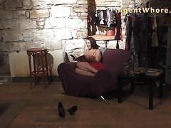 Brunette love to tease