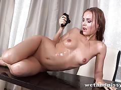 squirting, wet, masturbation, toys, dildo, solo, orgasm, european, euro, pee, piss, peeing, squirt, pissing
