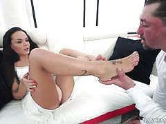 Angelina wild pounded doggystyle