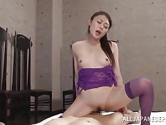 babe, japanese, stockings, anal fingering, censored, anal sex, cock riding, anal nippon, all japanese pass, kyoko nakajima