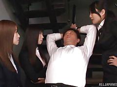 handjob, small penis, japanese, foursome, office, humiliation, babes, blindfolded, censored, office sex jp, all japanese pass