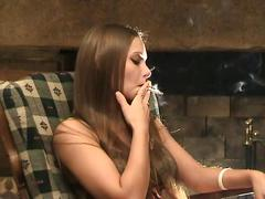 Smoking fetish - tls lynn & krystal