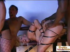 Hardcore cum swapping whores don't like sharing