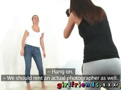 Girlfriends horny chicks sexy photo shoot