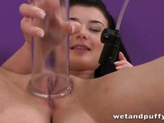 Hot lucy is ready to drill her sweet vagina