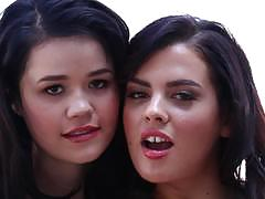 Balls deep anal fucking sweet babes yhivi and her friend keisha grey