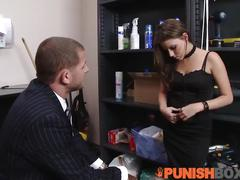 Punishbox - coworks get whats comming to her