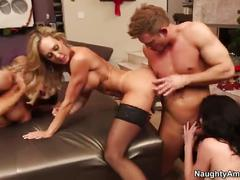 orgy, blowjob, milf, group, mom, mother