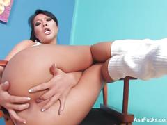 asian, big tits, masturbation, striptease, asafucks, asaakira, tattoo, masturbate, skinny, babe, brunette, hardcore, fingering, solo-girl, puba, pornstar, japanese, anal-fingering, teasing, stripping