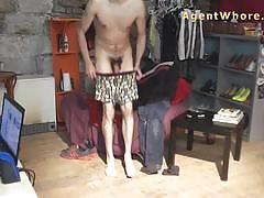 Casting boy gets wild treat
