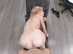 Jemma valentine devours this stiff cock