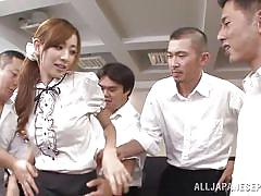 babe, japanese, orgy, teacher, pantyhose, students, nipples sucking, at school, boobs groping, jp teacher, all japanese pass, kaori maeda