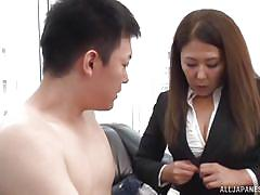 handjob, babe, japanese, office, brunette, censored, nipple sucking, office sex jp, all japanese pass