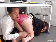 chubby, babe, japanese, office, fingering, brunette, censored, under desk, office sex jp, all japanese pass