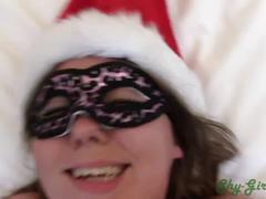 Christmas creampie