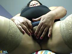 masturbation, fat, solo, latina, european, hairy, chubby, bbw, mature, natural tits, amateur