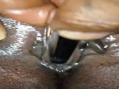 Foreplay with jamaican latty creamy pussy part1