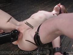 New slut discovers brutal bondage