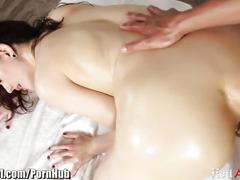 Sarah shevon oily assfuck and begging for cum