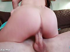 White tattoo hoe karmen karma gets fucked hard
