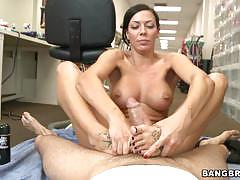 rachel starr, brunette, hardcore, feet, footjob, toes, fetish, foot, foot worship