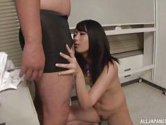 babe, japanese, office, blowjob, kissing, brunette, censored, nipple licking, office sex jp, all japanese pass