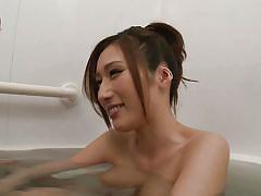 japanese, busty, pussy licking, bathtub, wet, fuck from behind, asian babe, tits sucking, erito av stars, erito, julia xx