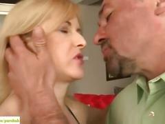 Kim brosley gets mature pussy fucked