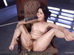 brunette, masturbation, toys, small tits, fuckingmachines, adult-toys, masturbate, mastrubation, solo-girl, vibrator, fucking-machines, dildo, orgasms, babe, hairy, small-tits
