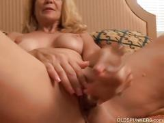 blonde, masturbation, toys, mature, oldspunkers, masturbate, cougar, milf, matures, old, skinny, granny, amateur, shaved, pierced, big-boobs, reality, natural-tits