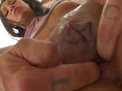 Juicy jade jantzen enjoys some sweet anal action