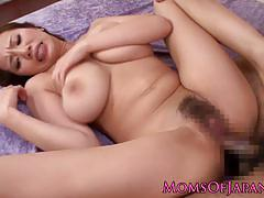 Busty asian gets her pussy pummelled