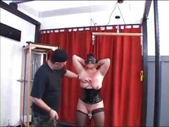 bdsm, matures, piercing, slave, stockings