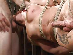 gay bdsm, gays, gay blowjob, gay domination, sex slave, tattoo, rope bondage, suspended, big dick, bound gods, kink men, wolf hudson, brendan patrick