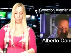 Pili reyes home webcam with alberto canosa 2015