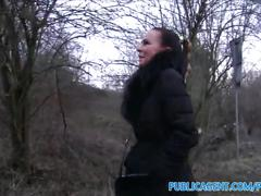 amateur, brunette, public, reality, exclusive, publicagent, real, outdoors, outside, cumshot, pov, camcorder, sex-for-cash, sex-for-money, sex-with-stranger